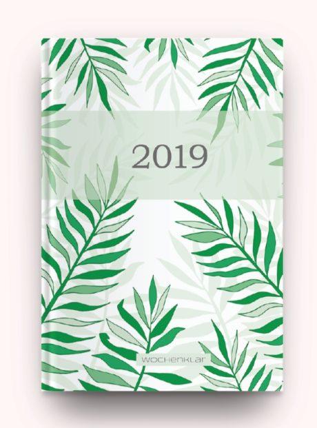 Hardcover gruene Blaetter