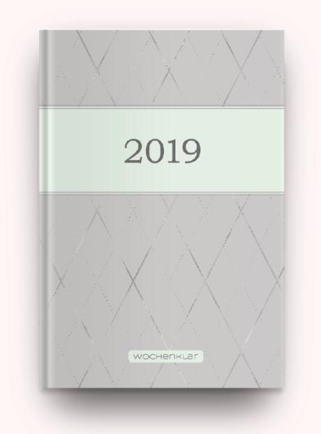 Hardcover, Rauten und Mint
