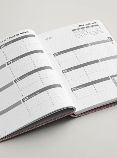 Wochentage in Zeilen - Terminplanung