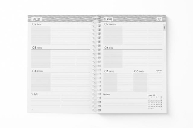 Klein-Schülerplaner-Wochenplanung